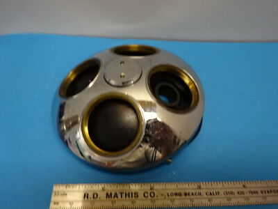 WILD HEERBRUGG SWISS NOSEPIECE for EPI OBJECTIVE MICROSCOPE PART OPTICS &90-A-05