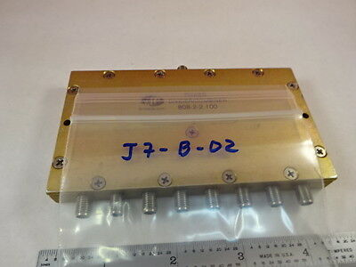 Meca Divider Combiner Power Splitter Rf Frequency Microwave As Is &j7-B-02