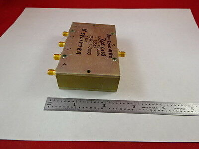 Mini Circuits Zb4Pd1-2000 Power Splitter Rf Frequency Microwave As Is &j7-B-01