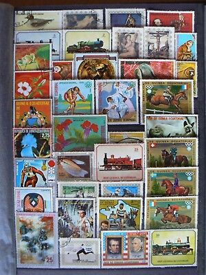 Collection Of Equatorial Guinea Stamps