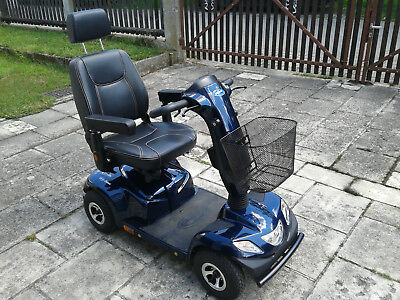 !!! Seniorenmobil, Scooter Invacare Orion in Onyxblau !!!