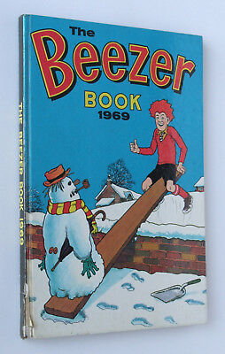 The Beezer Book 1969, Vintage D C Thomson Annual (used)