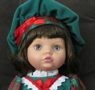 Baby So Beautiful Christmas Doll - Brunette - Never played with