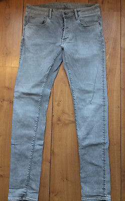 3301 straight Used Look Vintage Jeans w33 l36 NEUF!!! G-STAR RAW
