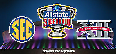 8 Tickets (lots of 2) for 2019 Allstate Sugar Bowl  Section 137