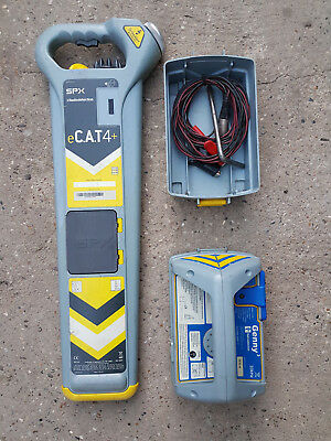 Radiodetection eCAT4+ Cable Avoidance Tool & Genny 3