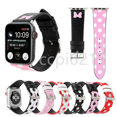 New Cute Leather Strap Bracelet Band Wrist For Apple Watch Series 4/3/2 38/42MM
