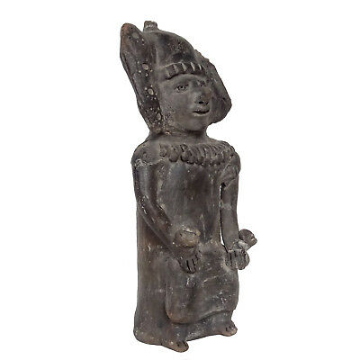 Pre-Columbian Figure Rare Ancient Mayan Statue Inca Aztec Pottery Mexico Mexican