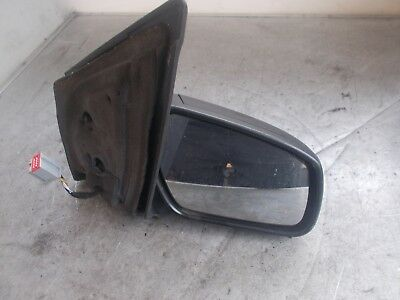 Ford Fiesta Mk6 Os Driver Side Electric Wing Mirror Black