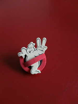 RARE cinema Pin's badge mousse vintage Ghostbusters 2 / collector foam brooch