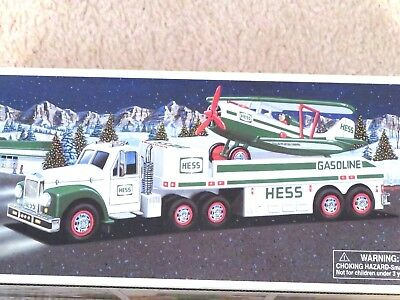 Hess 2002 Truck & Airplane - Brand New - Pristine - Never Opened - Mint In Box