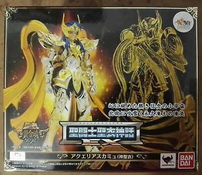 Saint Seiya Myth Cloth EX Camus Acuario Soul of Gold BANDAI NEW