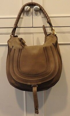 b32f64bb931d 100 Authentic Chloe Marcie Medium Shoulder Bag With Receipt