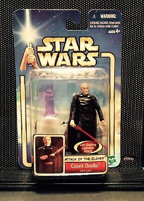 Star Wars Attack Of The Clones Count Dooku The Dark Lord