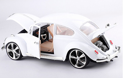 1:18 Scale car model Diecast VW Beetle Vintage Classic Cars Alloy Toys