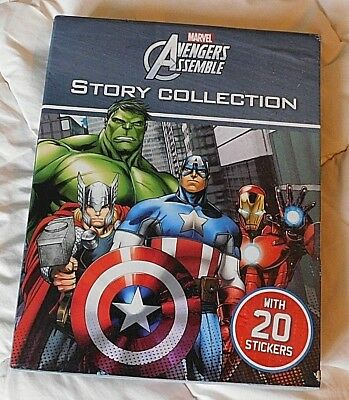Box Set 4 Marvel AVENGERS ASSEMBLE Books Story Collection rrp 24.99