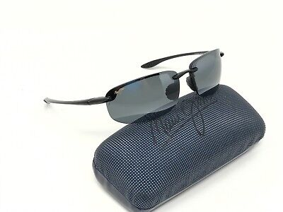 46e6450cb2a Maui Jim MJ 407-02 Hookipa Sunglasses Gloss Black   Black Polarized - See  Detail