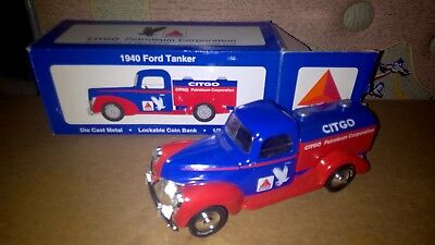 Citgo Ford tanker diecast bank MINT in box