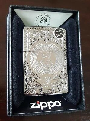Reduced!! Zippo Lighter Anne Stokes Pocketw Deep Carved Armor Case Nib