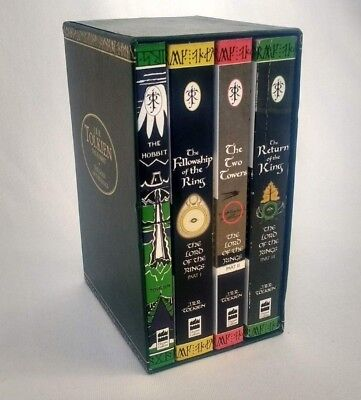 The Hobbit & The Lord of The Rings Box Set - 1997 Ted Smart J.R.R Tolkien