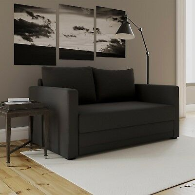 Pleasant Loveseat Side Sleeper Sofa Convertible Couch Memory Foam Gmtry Best Dining Table And Chair Ideas Images Gmtryco