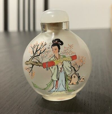 Superb Chinese Inside-Painted Glass Snuff Bottle