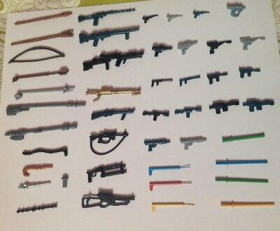 Vintage Star Wars New Reproduction/replica Weapons  Many To Choose From