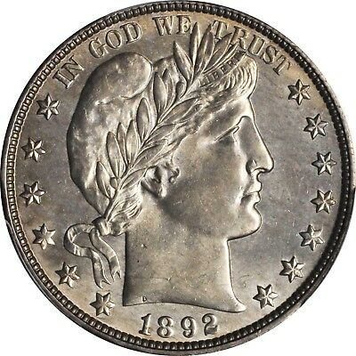 1892-O PCGS Secure MS63 Key Date Barber Silver Half Dollar Low 390,000 Mintage