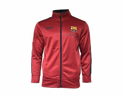 ccb748a8960 Fc Barcelona Jacket Zip Up Hoodie Mens Adults Youth Soccer Lionel Messi 10  Boys