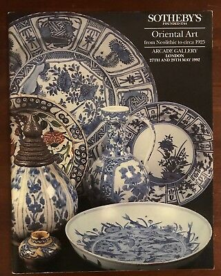 Sotheby's, London - Oriental Art from Neolithic to c.1925 - 27-28 May 1992