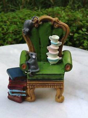 Alice in Wonderland Chair Mini World by Giftcraft