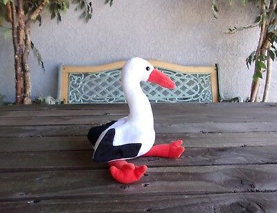 Stilts The Stork Beanie Baby Vintage Ty Original Babies Bean Bag Plush Bird
