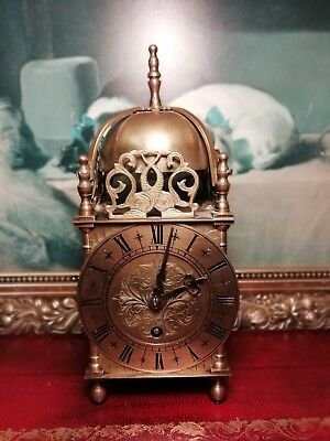 Large Empire Brass Carriage Clock . Spares/Repair.