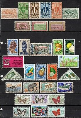 Central Africa nice mixed era mixed collection ,stamps as per scan(5584)