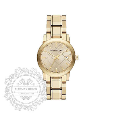 Burberry Light Champagne Dial Light Gold-tone Ladies Watch BU9134