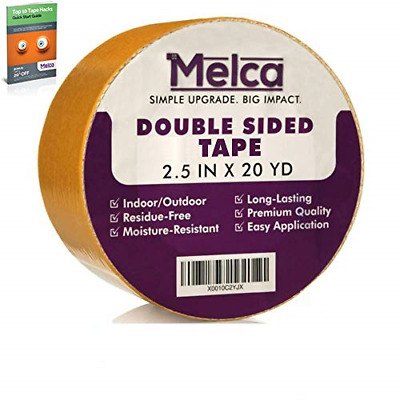 Melca Double Sided Gripper Tape - Rug/Carpet - 2.5 Inch 20 Yards