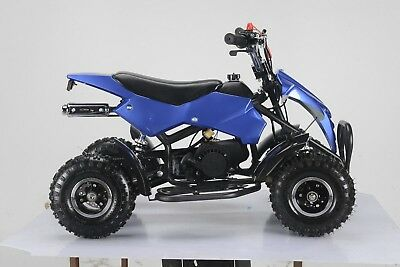49Cc Mini Quad Bike Atv Buggy Kids 4 Wheeler Pocket Pit Dirt Bike  Mjmotor