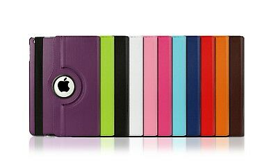 360 Rotating Leather Smart Case Cover for Apple iPad 6 2018