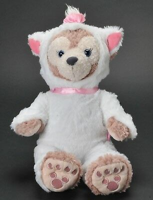 """Disney Parks ShellieMay Hidden Mickey with Aristocats Marie Costume 17"""" Plush"""