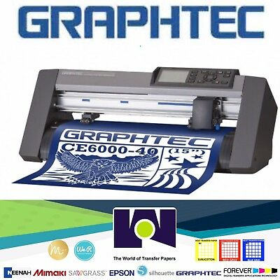 """Graphtec CE6000-40 PLUS (15"""") Cutter FREE SHIPPING"""