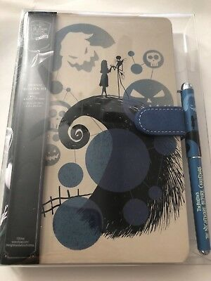 Disney The Nightmare Before Christmas Journal with Pen Set NEW