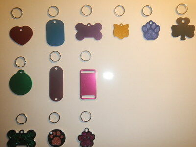 DOG TAGS Custom Engraved Name ID PET TAG, CAT CHARM Personalized FREE SHIP