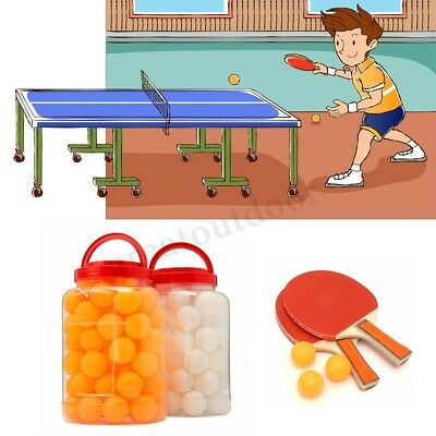60Pcs Table Tennis Balls Ping Pong 40MM Olympic Orange White Indoor Sports Toy