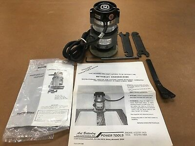 NOS Rare Betterley Porter Cable 310 Underscribe Router Manual Wrenches USA Made