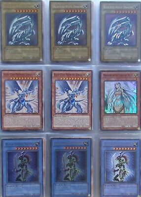Yugioh card lot (1000s of cards in stock) deck: Blue-Eyes Dragon Master (44+3)