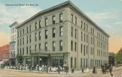 Dubois Pa Commercial Hotel Ca 1908