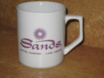 Coffee Cup Sands Hotel Casino Las Vegas Mug Nevada Caasino's Collectible