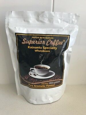 Coffee Beans - Papua New Guinea Highlands 500g