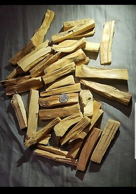 3 Larger Stick Lot of Palo Santo Wood (Incense Smudging Cleansing) US seller