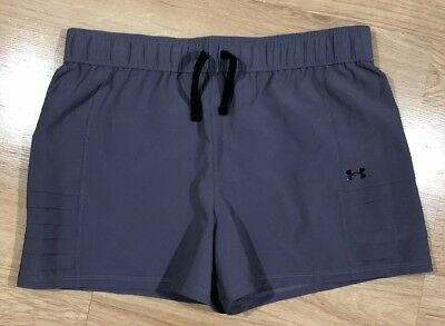 Girls UNDER ARMOUR Shorts YXL Loose Gray